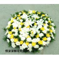 清明节鲜花,沉痛哀思