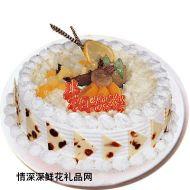 情人蛋糕,初恋情怀(水果蛋糕)