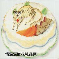 生肖蛋糕,胜者为王(虎)