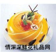 圣诞蛋糕,黄金果