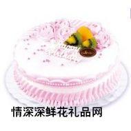 鲜奶蛋糕,雪国梦幻