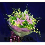 武汉鲜花,比翼双飞