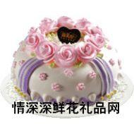 奶油蛋糕,微风倾诉(8寸)