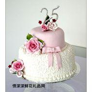 婚礼蛋糕,良缘天赐