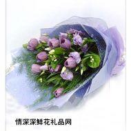 桔梗花,紫色恋曲