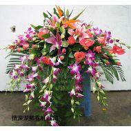 会议鲜花,台面花
