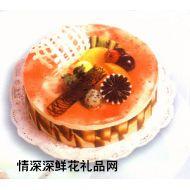 慕斯蛋糕,栗子慕斯(8寸)