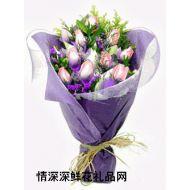 上海鲜花,永远相随