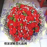 父亲节鲜花,美丽红似火