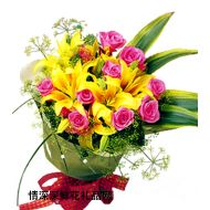 元旦鲜花,快乐的日子