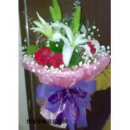 教师节鲜花,玫瑰之香吻