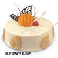 水果蛋糕,精美(味多美)