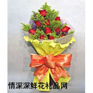 广州鲜花,梦中情人