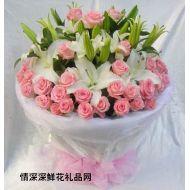 七夕节鲜花,纯纯的爱(七夕精品款)