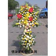 清明节鲜花,葬礼花篮10