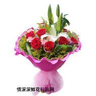 祝福鲜花,祝你平安