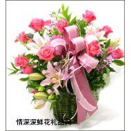 祝福鲜花,幸福安康