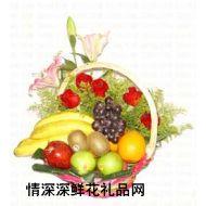 水果礼篮,春花秋实