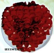 精品蛋糕,玫瑰恋情