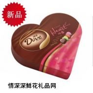 德芙巧克力,德芙心语礼盒109g(2010新款)