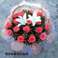 国庆节鲜花,小可爱