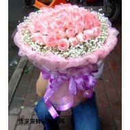 玫瑰花,粉玫Love