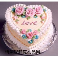 精品蛋糕,浓情玫瑰