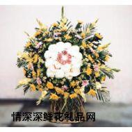 清明节鲜花,葬礼花篮7