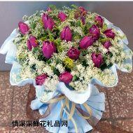 春节鲜花,拥抱浪漫