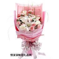 母亲节鲜花,爱如潮水