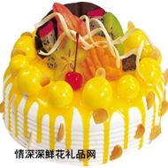水果蛋糕,柠檬物语(味多美 品牌)