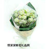 七夕节鲜花,雪中仙子