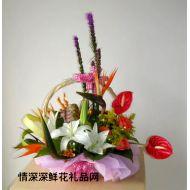 元宵节鲜花,福运多多