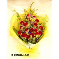 玫瑰花,红色情感