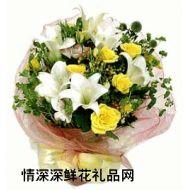 广州鲜花,我的梦里只有你