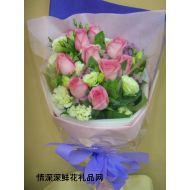 爱情鲜花,蝶舞飞花