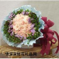 精品鲜花,慈母心