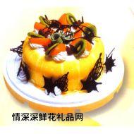 水果蛋糕,情投意合(10寸)