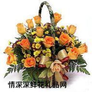 夫妻鲜花,钟爱一生