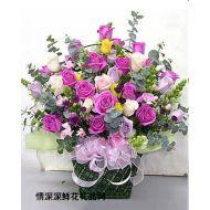 生日鲜花,情意