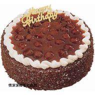 巧克力蛋糕,意大利桂冠