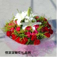 元旦鲜花,爱相随