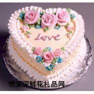 国际蛋糕,浓情玫瑰(英国)