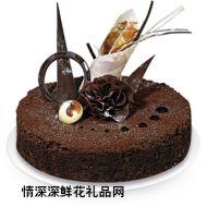 巧克力蛋糕,设计
