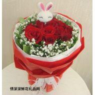 玫瑰花,恋爱物语