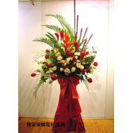 香港鲜花,红红火火