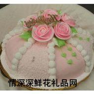 奶油蛋糕,玫瑰物语