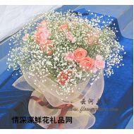 亲情鲜花,我深心的爱