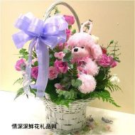 精品鲜花,粉宝宝