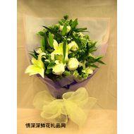 元旦鲜花,香馨千里